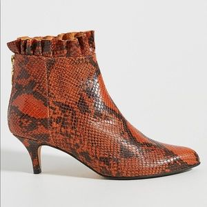 Anthropologie Emma Go Kitten-Heeled Ankle Boots 41